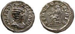 Ancient Coins - Julia Domna AR (Silver) Denarius--Choice