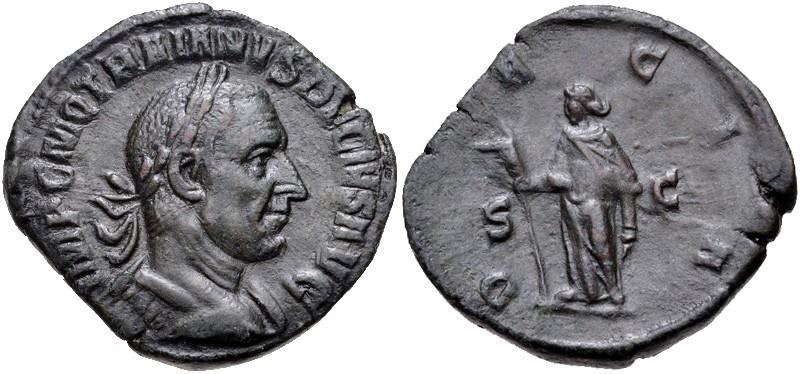 Ancient Coins - Trajan Decius AE Sestertius--Nice