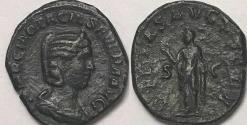 Ancient Coins - Otacilia Severa AE Sestertius