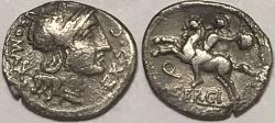 Ancient Coins - M. Sergius Silus AR (Silver) Denarius