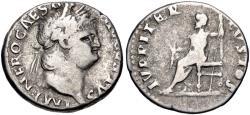 Ancient Coins - Nero AR (Silver) Denarius