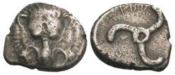 Ancient Coins - Lycian Dynasty AR (Silver) Tetrobol