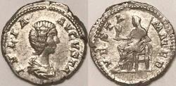 Ancient Coins - Julia Domna AR (Silver) Denarius--Scarce Type!