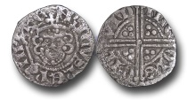 World Coins - H5381 - ENGLAND, Henry III (1216-1272), Penny, 1.25g., 19mm, Voided Long Cross Coinage, Class 5a3, (1251-1272), Nicole - London