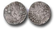 World Coins - ME1133 – FRANCE, ROYAL COINAGE, Henri II (1559-1560), Silver Douzain aux Croissants, Paris mint