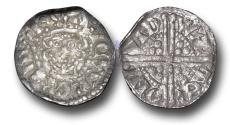 World Coins - VLC334 - ENGLAND, Henry III (1216-1272), Penny, 1.44g., Voided Long Cross Coinage, Class 5c, (1251-1272), Walter - London