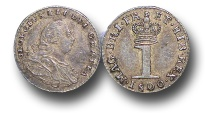 World Coins - EM377 - Great Britain,   George III (1760-1820), Maundy Silver Penny, 1800