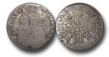 World Coins - S684 - SCOTLAND, Charles II (1649-1685), Silver Merk (13/4 Scots), 1671