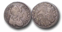World Coins - EM43 - ENGLAND,   Charles II   (1660-1685), Fourpence, 1679