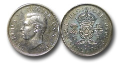 World Coins - EM510 - Great Britain, 	George VI (1936-1952), Proof Cupro-Nickel Halfcrown, 1950