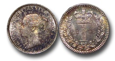 World Coins - EM602 - Great Britain, Victoria 		(1837-1901), Silver Maundy Penny,  1869