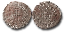 World Coins - SF8 - Anglo-Gallic, Aquitaine, Edward III  (As Duke and King of England 1327-1377), Silver Gros au chatel aquitanique