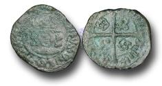 World Coins - SZ138  - SCOTLAND, James IV (1488-1513), Billon Penny, 0.74g., 2nd Issue, type IV, Edinburgh mint
