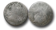 World Coins - EM114 - GREAT BRITAIN, George III (1760-1820), Copper Halfpenny,  Contemporary Imitation,  1775