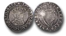 World Coins - IJF18 - IRELAND, James I (1603-1625), Sixpence, 2.16g., 24mm, First Coinage (1603-1604), m.m. Bell, 1st bus