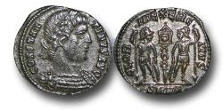 Ancient Coins - R16174 -  Constantius II (A.D. 337-3617), Bronze Follis, 1.32g., 17mm, Heraclea mint