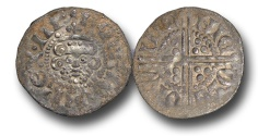 World Coins - VLC736 - ENGLAND, Henry III (1216-1272), Penny, 1.31g., Voided Long Cross Coinage, Class 3b, (1248-1250), Nicole - Winchester