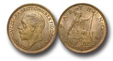 World Coins - EM441 – Great Britain, George V (1910-1936), Bronze Farthing, 1936