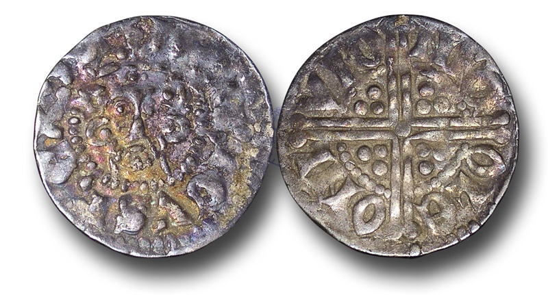 World Coins - VLC264 - ENGLAND, Henry III (1216-1272), Penny, 1.51g., Voided Long Cross Coinage, Class 3c, (1248-1250), Nicole - London