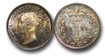 World Coins - EM572 - Great Britain, Victoria   (1837-1901), Silver Maundy Penny, 1872
