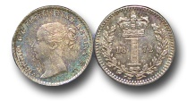 World Coins - EM507 - Great Britain, Victoria   (1837-1901), Silver Maundy Penny, 1872