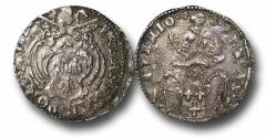 World Coins - ME9064 - Italy, Papal Coinage, Urban VIII Barberini (1623-1644), Silver Jules, 28mm, 2.92g., Avignon