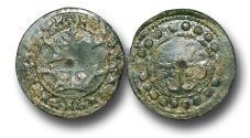 World Coins - H15209 - MEDIEVAL ENGLAND, PLANTAGENET (c.1280-1343), Copper Jeton