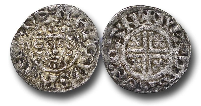 World Coins - JL3 – ENGLAND, Henry III   (1216-1272), Short Cross Penny, 1.36g., 19mm, class 6c (c.1215-c.1217/18), London - Walter