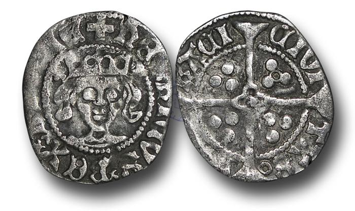 World Coins - H5248 - ENGLAND, Henry V (1413-1422), Penny, 0.81g., 18mm, York (local dies), Class G