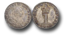 World Coins - EM385 - GREAT BRITAIN,   George III (1760-1820), Maundy Silver Penny, 1800