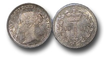 World Coins - EM502 - Great Britain, Victoria   (1837-1901), Silver Maundy Twopence, 1881