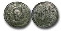 Ancient Coins - RB112 - ROMAN BRITAIN, The 'Romano-British Empire', Allectus (A.D.293-296), Bronze Antoninianus, 3.55g., 'C' or 'G' mint