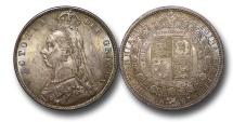 World Coins - EM522 - Great Britain, Victoria (1837-1901), Halfcrown, 1887, Jubilee Head Coinage