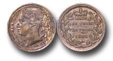 World Coins - EM161 - GREAT BRITAIN, Victoria   (1837-1901), Bronze Third Farthing, 1866