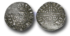 World Coins - VLC465 - ENGLAND, Henry III (1216-1272), Penny, 1.39g., Voided Long Cross Coinage, Class 5c, (1251-1272), Nicole - Canterbury