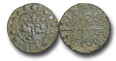 World Coins - H15207 - MEDEIVAL ENGLAND, PLANTAGENET (c.1302-1350), Time of Edward I-III, Sterling Bust type, Copper Jeton