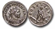 Ancient Coins - R18050 - Maximianus, 1st Reign (A.D. 286-305), AE Reform Antoninianus, 3.23g., 23mm, Lugdunum mint