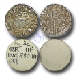 World Coins - VLC705 - ENGLAND, Henry III (1216-1272), Penny, 1.20g., Voided Long Cross Coinage, Class 3b, (1248-1250), Lucas - Northampton