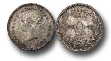 World Coins - MD1393 - Great Britain, Victoria (1837-1901), Silver Maundy Twopence,  1866 UNC