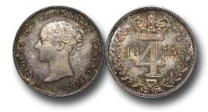 World Coins - MD1361 - Great Britain, Victoria (1837-1901), Silver Maundy Fourpence, 1875
