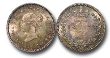 World Coins - EM528 - Great Britain, Victoria   (1837-1901), Silver Maundy Twopence, 1873