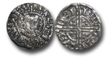 World Coins - VLC356 - ENGLAND, Henry III (1216-1272), Penny, 1.26g., Voided Long Cross Coinage, Class 5c, (1251-1272), Davi - London