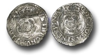 World Coins - H1593 - ENGLAND, Charles I (1625-1649), Halfgroat, 0.70g., Group A, Francis 1a, Hawkins 1a, Tower Mint