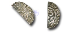 World Coins - SZ205 - ENGLAND, Henry II (1154-1189), Short Cross Cut Halfpenny, 0.60g., class 1c (c.1185-c.1189), London - Raul