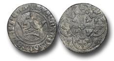 World Coins - H5211 - FRANCE, Charles VI (1380-1422), Bronze Jeton