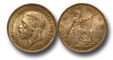 World Coins - MD1438 – Great Britain, George V (1910-1936), Bronze Farthing, 1936