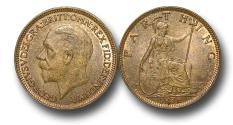 World Coins - MD1441 – Great Britain, George V (1910-1936), Bronze Farthing, 1936