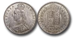 World Coins - MD1646 - Great Britain, Victoria 	(1837-1901), Halfcrown, 1887, Jubilee Head Coinage, UNC