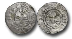 World Coins - ME1647 - FRANCE, FEUDAL, Valence, Bishops of Valence (1157-1276), Silver Denier