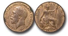 World Coins - EM641 – Great Britain, George V (1910-1936), Bronze Farthing, 1935